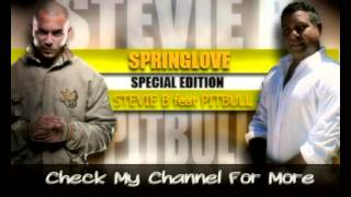 Stevie B feat. Pitbull - Spring Love 2013 (Lyrics)