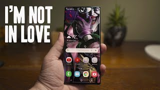 Galaxy Note 10+ After 72 Hours: I'm Not in Love