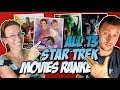 All 13 Star Trek Movies Ranked Worst to Best (w/Galaxy Quest)
