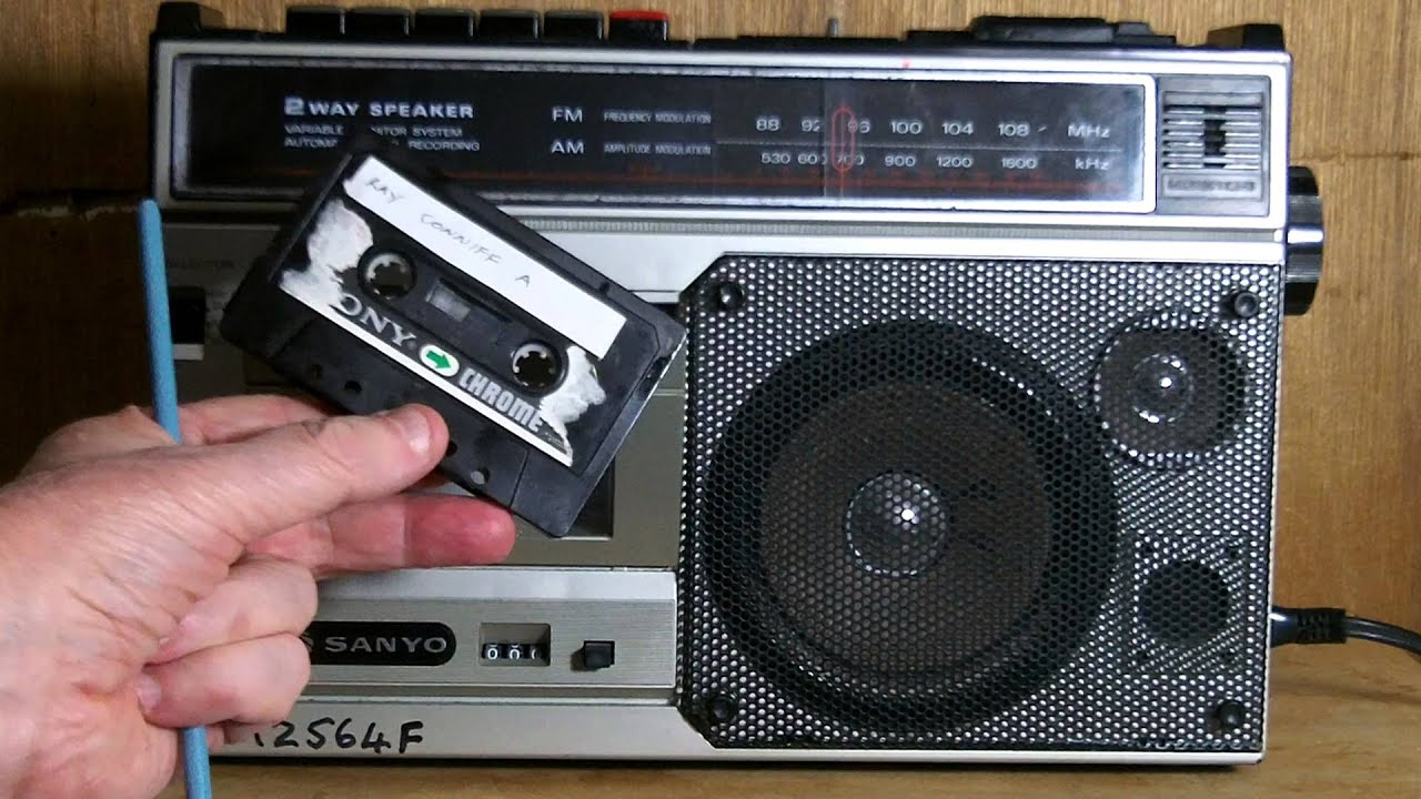 Record Quality Of The Sanyo M2564f Radio  Cassette Player