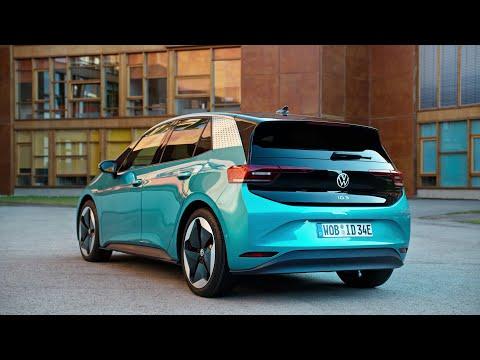 2020 VW ID.3 Electric Car [Exterior Video]
