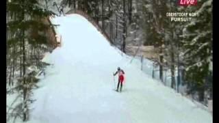 2005 WSC Oberstdorf 2x7.5 km M Pursuit TCHEPALOVA BJOERGEN STEIRA