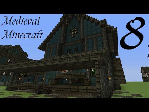 Minecraft: Medieval Large Shop Tutorial [part 8 season 3]