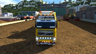Euro Truck Simulator 2 - Volvo FH16  8X4 and Oversize Load