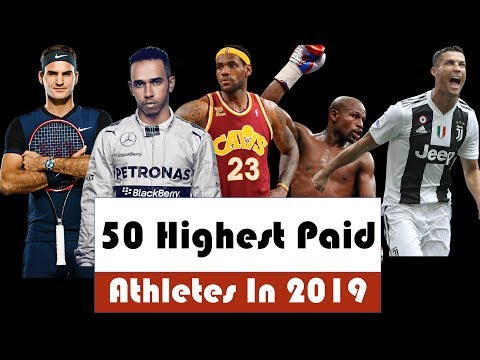 50 Highest paid Athletes In 2019