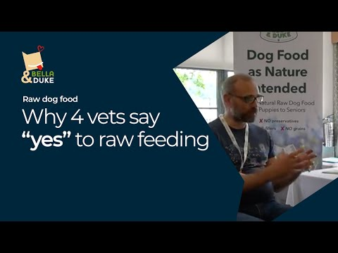 Vets Say Yes to Raw Feeding Dogs