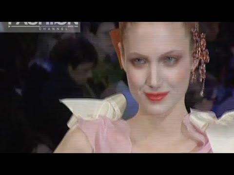 CHRISTIAN LACROIX Spring Summer 2005 Paris Haute Couture by Fashion Channel