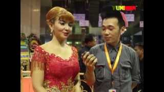 CELEBRITY ON THE LINE WITH RORO FITRIA AT PANASONIC GOBEL AWARDS 2014