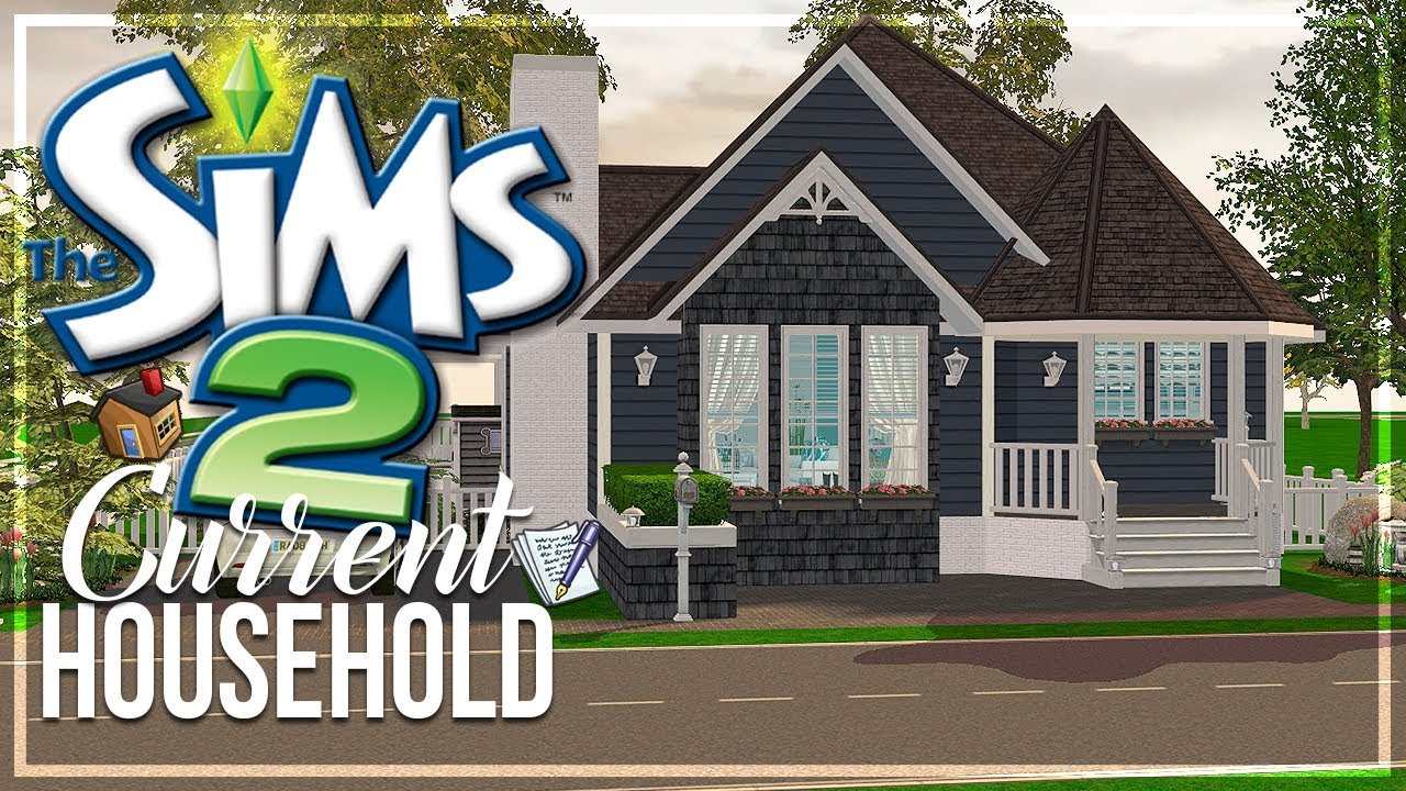 The Sims 2 | Current Household - The Wiley Family - NEW HOUSE ...