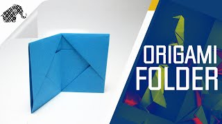 Origami - How To Make An Origami Folder / Wallet