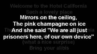 The Eagles Hotel California Lyrics