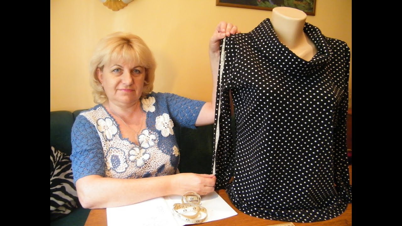 Выкройка вязанных платьев