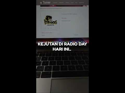 viral kejutan presiden Jokowi di hari Radio Nasional (RadioDay)