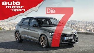 Audi A1 Sportback (2019): 7 Fakten, die jeder Audi-Fan wissen sollte -  auto motor & sport