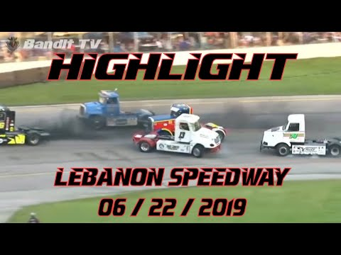 Highlights from Lebanon I-44 Speedway - 6/22/19