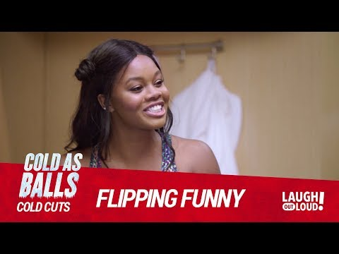 Gabby Douglas & Kevin Hart On Why Gymnasts Are So Short I Cold As Balls: Cold Cuts