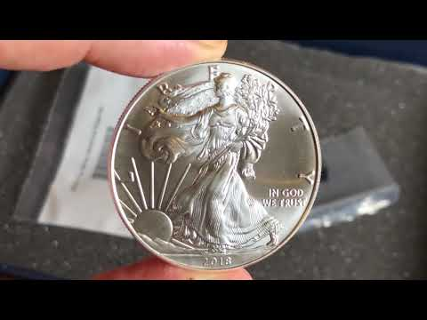The American Silver Eagle 2018   The standard bearer for government silver bullion