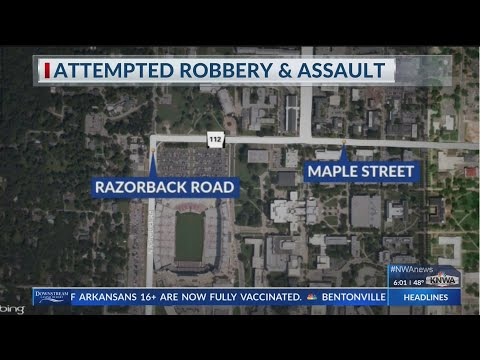 UAPD investigates assault and attempted robbery on Razorback Road