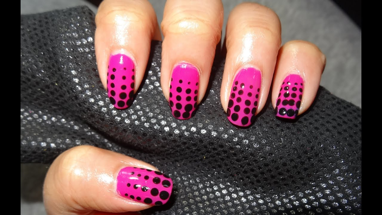 Hot Spots Nail Design Youtube