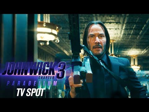 """John Wick: Chapter 3 - Parabellum (2019) Official TV Spot """"Let's Do This""""– Keanu Reeves, Halle Berry"""