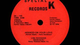LISA RICHARDS - hooked on your love 85