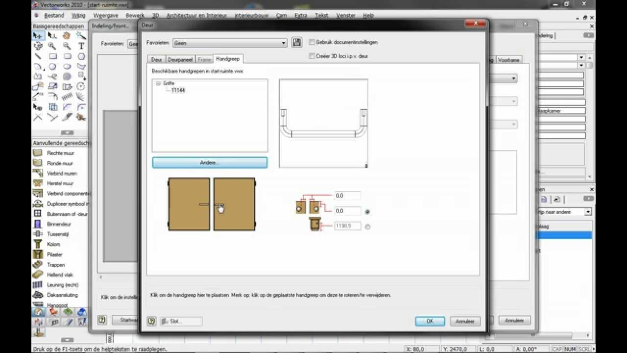 Vectorworks Kastelement Maken En Presenteren Stap 4