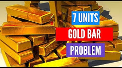 7 Units Of Gold Bar Puzzle | Puzzle In Hindi | Puzzle Questions | Riddles | Interview Brain Teasers