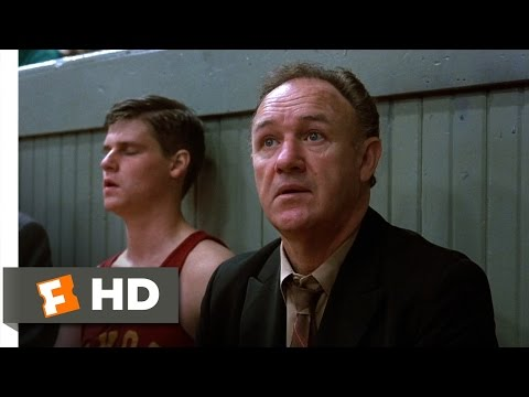Hoosiers (3/12) Movie CLIP - Benching Rade on Principle (1986) HD