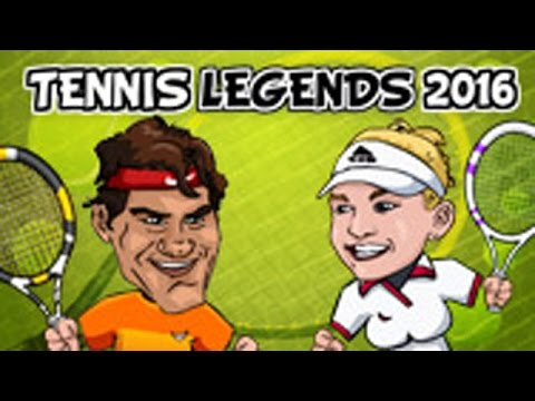 Y8 Tennis Legends 2016 Gameplay Youtube