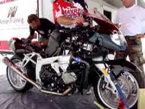 andy sills bmw k1200s turbo bonneville salt flats 2007 - youtube