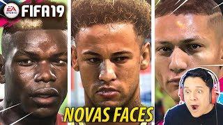 FIFA 19 - NOVAS FACES!! Neymar, Richarlison, Pogba e MAIS!!
