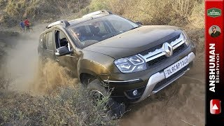 XUV 500 AWD, Duster AWD, Storme 400, Fortuner, Thar: Offroad obstacle 2. 1Apr17