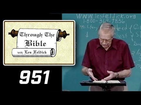 [ 951 ] Les Feldick [ Book 80 - Lesson 1 - Part 3 ] Daniel Part 1: Daniel 1:1-2:39 |c