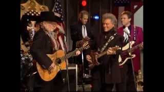 WIllie Nelson at Marty Stuart Show