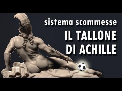 Il tallone di Achille, sistema scommesse sportive.