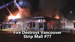 Fire Destroys Kerrisdale West Side Vancouver Strip Mall #77