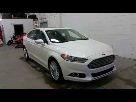 2016 Ford Fusion Se All Wheel Drive W Ecoboost Sunroof Review Boundary