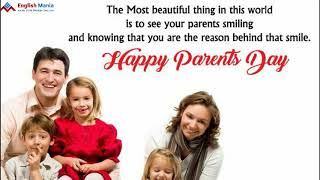 Happy Parents Day WhatsApp Status Video Download 2020 / National Parents Day Status