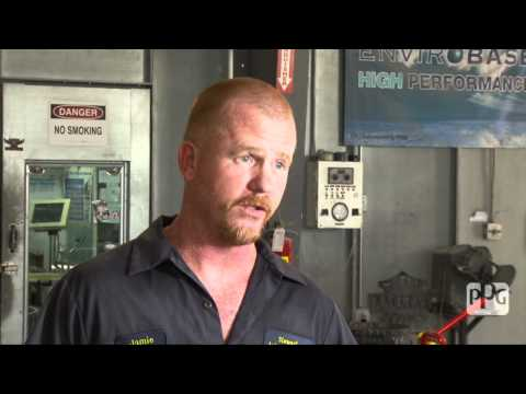 Stewart Auto Repair's Conversion to PPG's Envirobase® High Performance waterborne basecoat