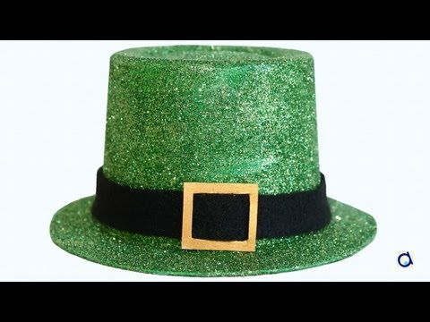 comment faire un chapeau saint patrick youtube. Black Bedroom Furniture Sets. Home Design Ideas