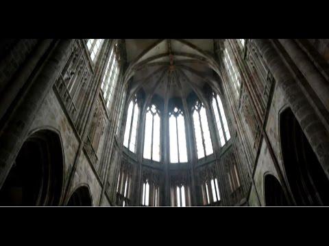 Recorrido por el interior de la Iglesia del Monte Saint Michel