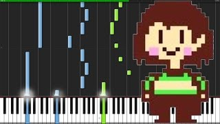 Once Upon A Time - Undertale [Piano Tutorial] (Synthesia) // bigbug54321