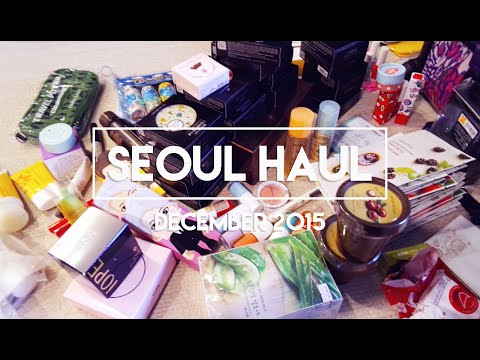[-seoul-haul-]-korean-cosmetics,-stationery,-and-kpop-●-◡-●