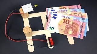 Dinheiro Falso com esta Invenção