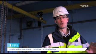 Equilibres – Eau potable : visite guidée d'une usine de traitement
