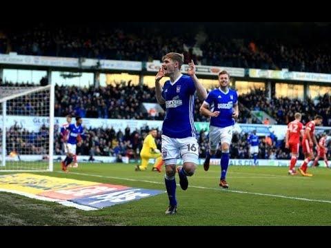 Ipswich Town 4-2 Nottingham Forest - 2017/18 - BBC Radio Suffolk Highlights
