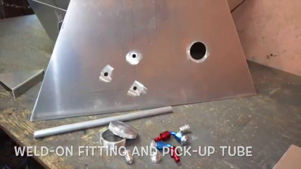 Custom Aluminum Fuel Tank Build Up Youtube