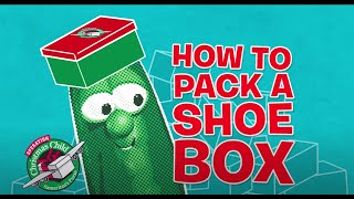 Pack a Shoebox with VeggieTales