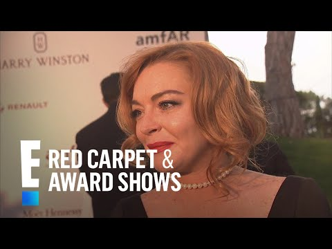Lindsay Lohan Opens Up on Latest Projects  E! Live from the Red Carpet