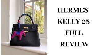 Hermes Kelly 28 Bag Review 愛馬仕凱莉包好用嗎